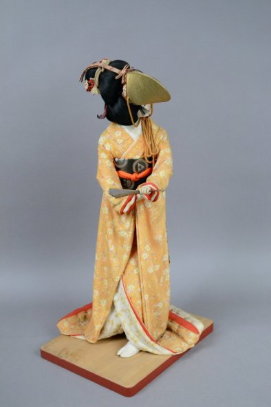 2009.72.1.1 Isho-Ningyo Costume Doll (side)