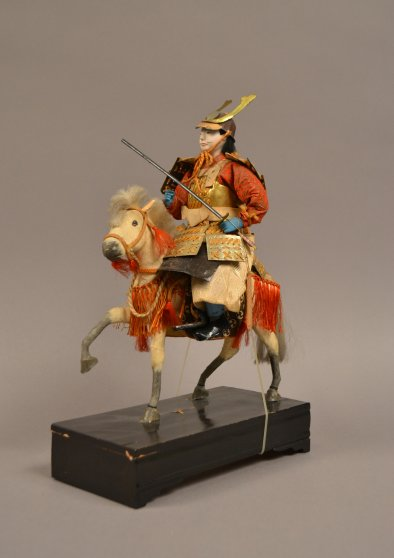 AB 59-5 Samurai on Horseback Doll