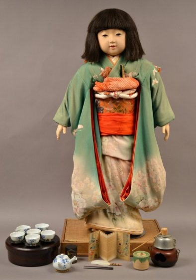 AB 782.1 Miss Kyoto (and tea ceremony accessories)