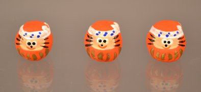 AB 88-12 a-c Miniature Daruma Set