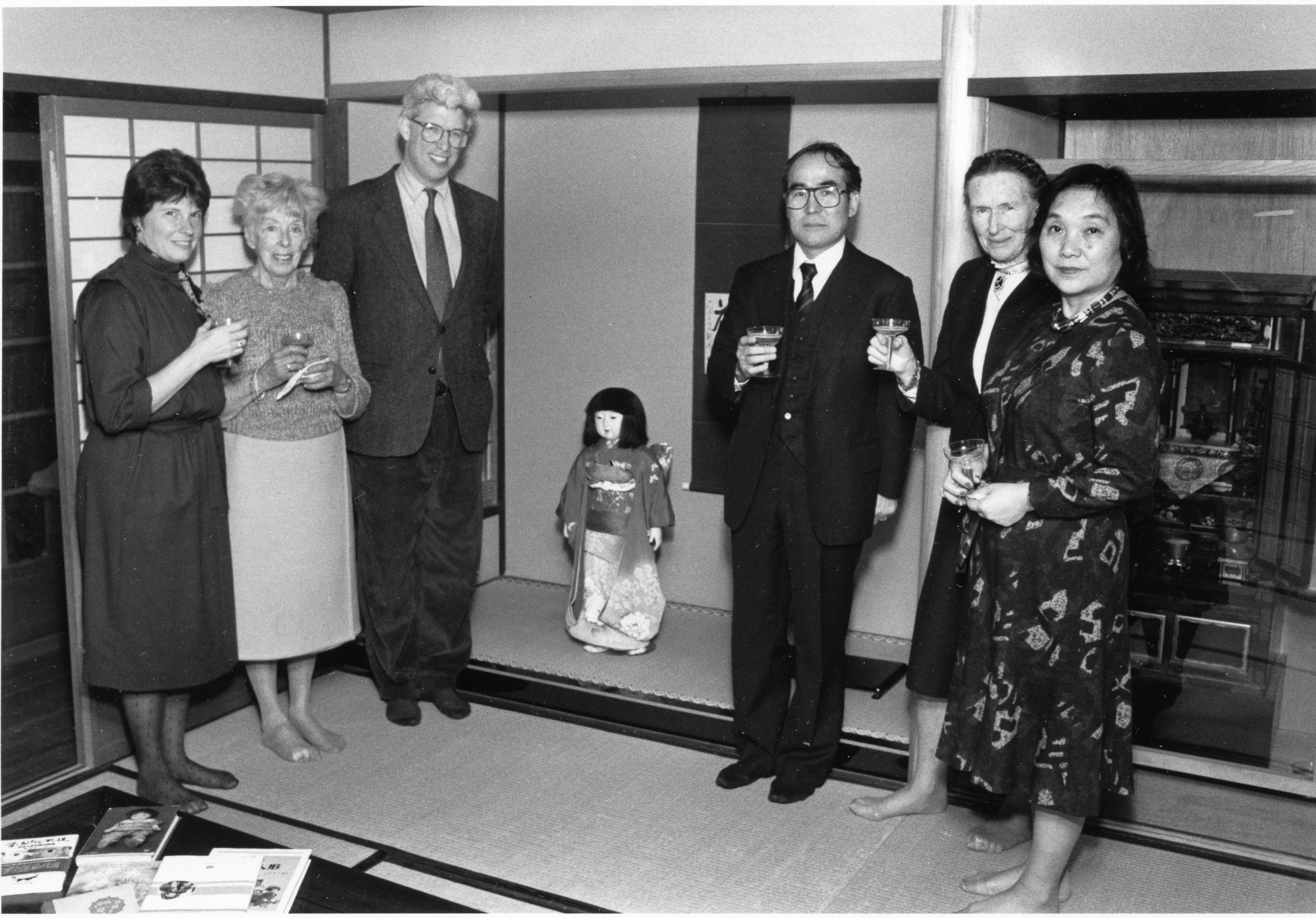 1986.MissK Doll returns to the museum